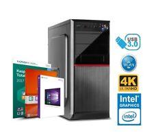 PC Büro COMPUTER INTEL I5 8400 6x 4,00GHz 16GB DDR4 250GB SSD 2TB HDD Windows 10
