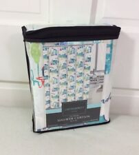 CYNTHIA ROWLEY French Parisian Shower Curtain City Dweller NEW 72""