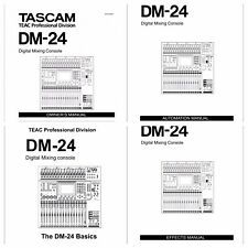 PDF . Tascam  DM-24 Digital Mixing Console Owners Manual , Effects , Automation