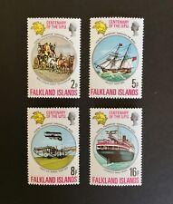Falkland Islands 1974 Centenary of UPU Complete set of 4 MNH