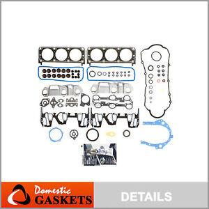 Fits 95-99 Chevrolet Buick Oldsmobile Pontiac 3.1L OHV Full Gasket Set VIN M