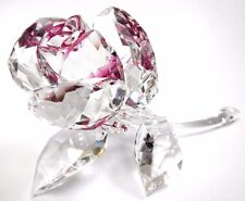 BLOSSOMING ROSE - RUBY CLEAR CRYSTAL LOVE FLOWER 2017 SWAROVSKI CRYSTAL  5248878