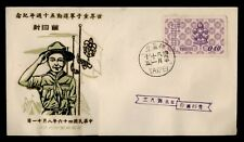 DR WHO TAIWAN CHINA BOY SCOUTS FDC C167579