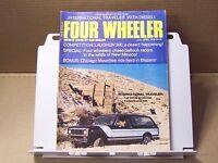 April 1976 Four Wheeler Magazine Mods Tech Off Road 4wd 4x4 Tests