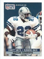 Emmitt Smith 1991 Pro Set Card #485; NM-Mint; Dallas Cowboys