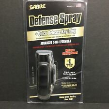 Sabre Pepper Spray Advanced 3-in-1 Police Strength Quick Release Key Chain