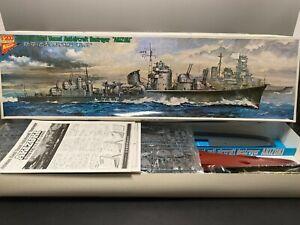 Nichimo 1/200 Vintage Kit Akizuki Japanese Navy destroyer Unassembled BOX DENT