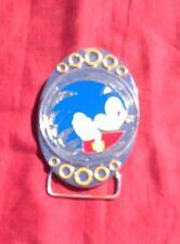 Spinning Sonic Belt Buckle