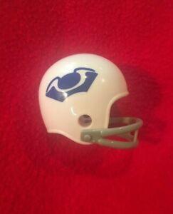 Riddell pocket pro football helmet NFL AFL New England Boston Patriots two-bar