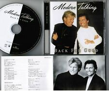 MODERN TALKING Back For Good JAPAN CD BVCP-21033 w/JAPANESE BOOKLET Free S&H/P&P