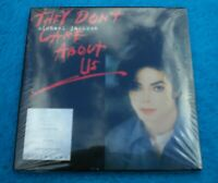 "Michael Jackson Dual Disc ""THEY DON'T CARE ABOUT US"" Visionary CD DVD Video NEU"