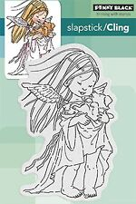 Puppy Guardian, Cling Style Unmounted Rubber Stamp PENNY BLACK - NEW, 40-423