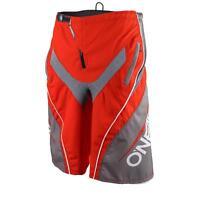 O'Neal Element FR Shorts Blocker Rot Grau Hose MTB DH AM Fahrrad Mountainbike
