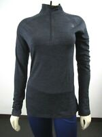 NWT Womens The North Face Merino Wool Baselayer 1/4 Zip Pullover Fitted Shirt LS