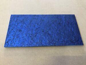 "KIRINITE: Arctic Blue Ice 1/8"" 6"" x 12"" Sheet for Wood Working, Knife Making"