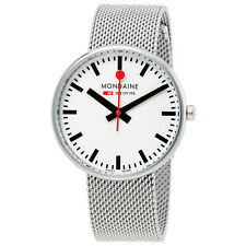 Mondaine Mini Giant Stainless Steel Mesh Ladies Watch A763.30362.11SBM