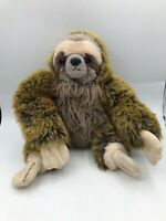 Aurora World Costa Rica Brown Tree Sloth Plush Kids Soft Stuffed Toy Animal Doll