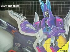 R0501503 CYCLONUS TRANSFORMERS MIB SEALED BUBBLE 1986 MINT IN BOX