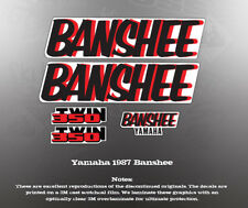 YAMAHA 1987 YFZ350 BANSHEE FENDER SHROUD GRAPHIC SET
