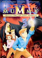 THE MUMMY - QUEST FOR THE LOST SCROLLS DVD NEW SEALED