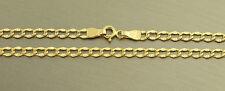 50 cm Panzerkette 585 Goldkette - Halskette - Kette Gold - Echtgoldkette 14 kt