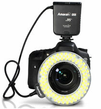 Aputure Amaran Halo AHL-HC100 CRI 95+ LED Macro Ring Flash Light for Canon DSLR