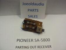 Pioneer Sa-5800 Original Headphone Jack Board . Tested Parting out Sa-5800 Amp.