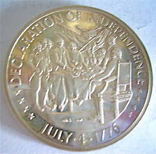 RARE MEDAILLE  EN ARGENT MASSIF,COMMEMORATIVE 200  YEARS UNITED STATES