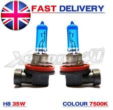 Bmw H8 35w 7500K Xenón Efecto Angel Eye actualización bombillas-Serie 5 E60 E61 LCI