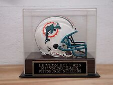 Display Case For Your Le'Veon Bell Steelers Autographed Football Mini Helmet