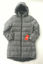NEW NORTH FACE WOMENS METROPOLIS PARKA III 3 DOWN WINTER COAT HEATHER GREY M MED