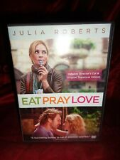 Eat Pray Love (DVD, 2010, Theatrical Version/Extended Cut) Julia Roberts