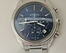 Mens Rotary Chronograph Watch GB00670/05  Blue Dial (346F)