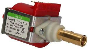 Pumpe Wasserpumpe Ulka EX5 für Saeco & Delonghi 230V 48W  NEU !