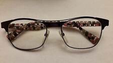 ALAIN MIKLI AL1221 M0C5 Blue Black Pink Navy Check Eyeglasses Frame Glasses