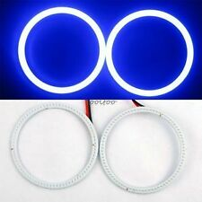2X 80mm LED COB Angel Eye  Ring O-ring Car Light  Waterproof  Blue