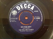 THE ROLLING STONES - 1964 Vinyl 45rpm 7-Single - NOT FADE AWAY