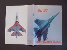 Luftfahrt, Suchoj SU-27, Przeglad Konstruckcji Lotniczych, Polska 1992, Aircraft