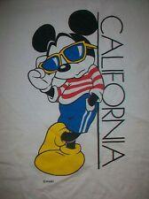 vintage COOL MICKEY CALIFORNIA SOUVENIR t shirt XL 50/50 disney donald duck TD1
