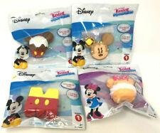 (4) Disney Kawaii Squeezies Mickey & Minnie Mouse Rice Krispy Treat Cupcake Set