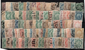 BOLIVIA - SHIELDS, YEARS 1868/1894 120 STAMPS, WITHOUT STUDYING, ERRORS, PERFINS