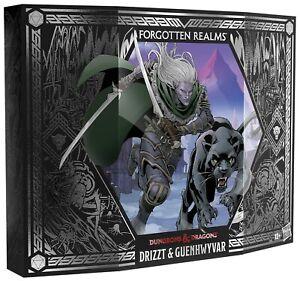 Dungeons & Dragons Forgotten Realms Drizzt & Guenhwyvar Action Figure