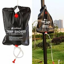 20L Shower Bag Solar Energy Bath Field Outdoor Living Accessory Camping Supply