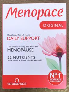NEW 2020 Menopace Original Vitamins 30 Tabs ***Multi-Buy Discount Vitabiotics