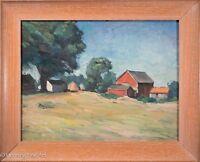 "Superb American Landscape Oil Painting by ""Kollmar"" Impressionist & FINE c.1932"