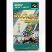 [Legend of Zelda ] A Link to the Past JAPAN with box and manual Famicom FC NES