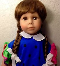 """RARE 1980's Silvia Creation LIMITED ED Character 19"""" Doll-Artist:Theo Menzenbach"""