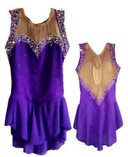 New Ice Figure Skating Dress Competition Baton Twirling Custom Dance Dress p318