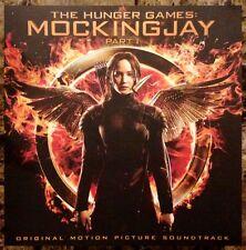 THE HUNGER GAMES: MOCKINGJAY PART I Soundtrack 2014 Ltd Ed RARE New Poster Flat