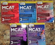 The Princeton Review MCAT Review BUNDLE 2015 USA